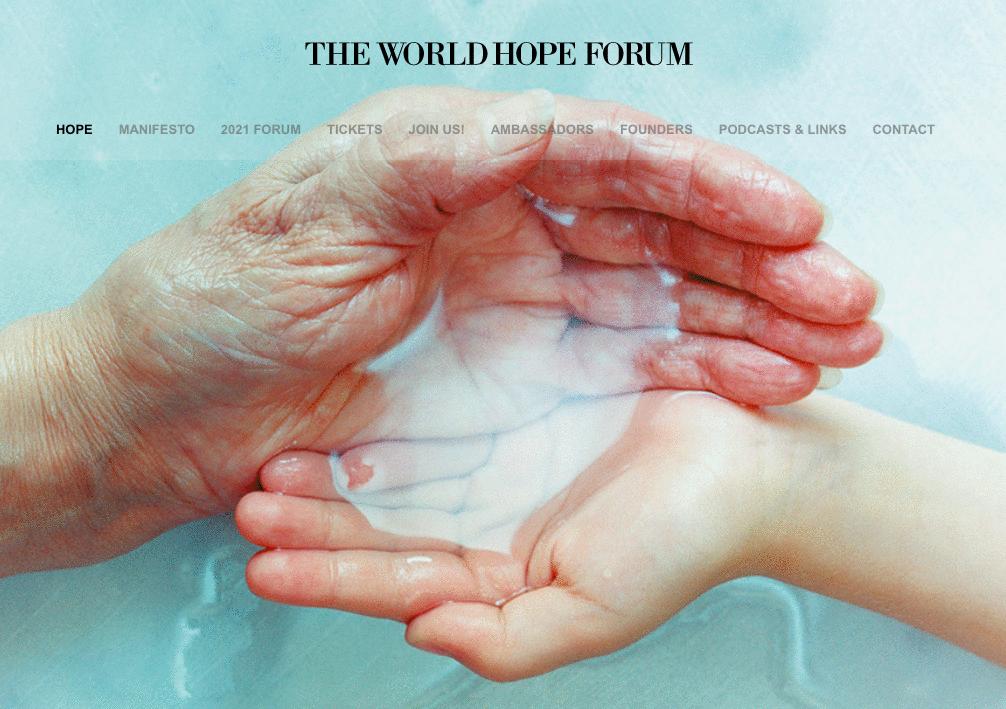 World Hope Forum Brasil gratuito com Li Edelkoort dia 27/02 das 10 às 16hs