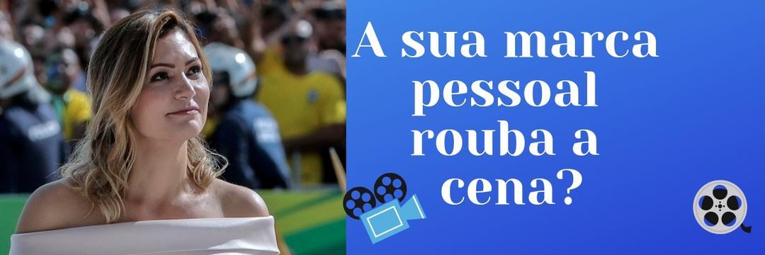 A sua marca pessoal rouba a cena? A de Michelle Bolsonaro sim.