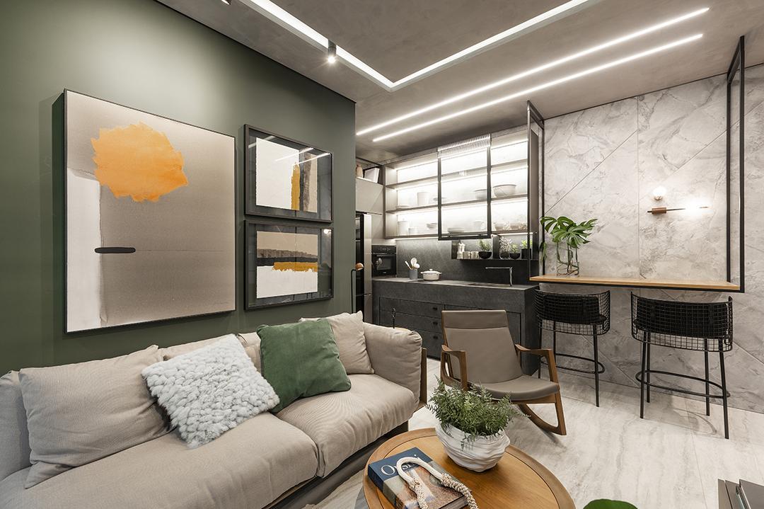 A experiência de morar no empreendimento Hub Smart Home