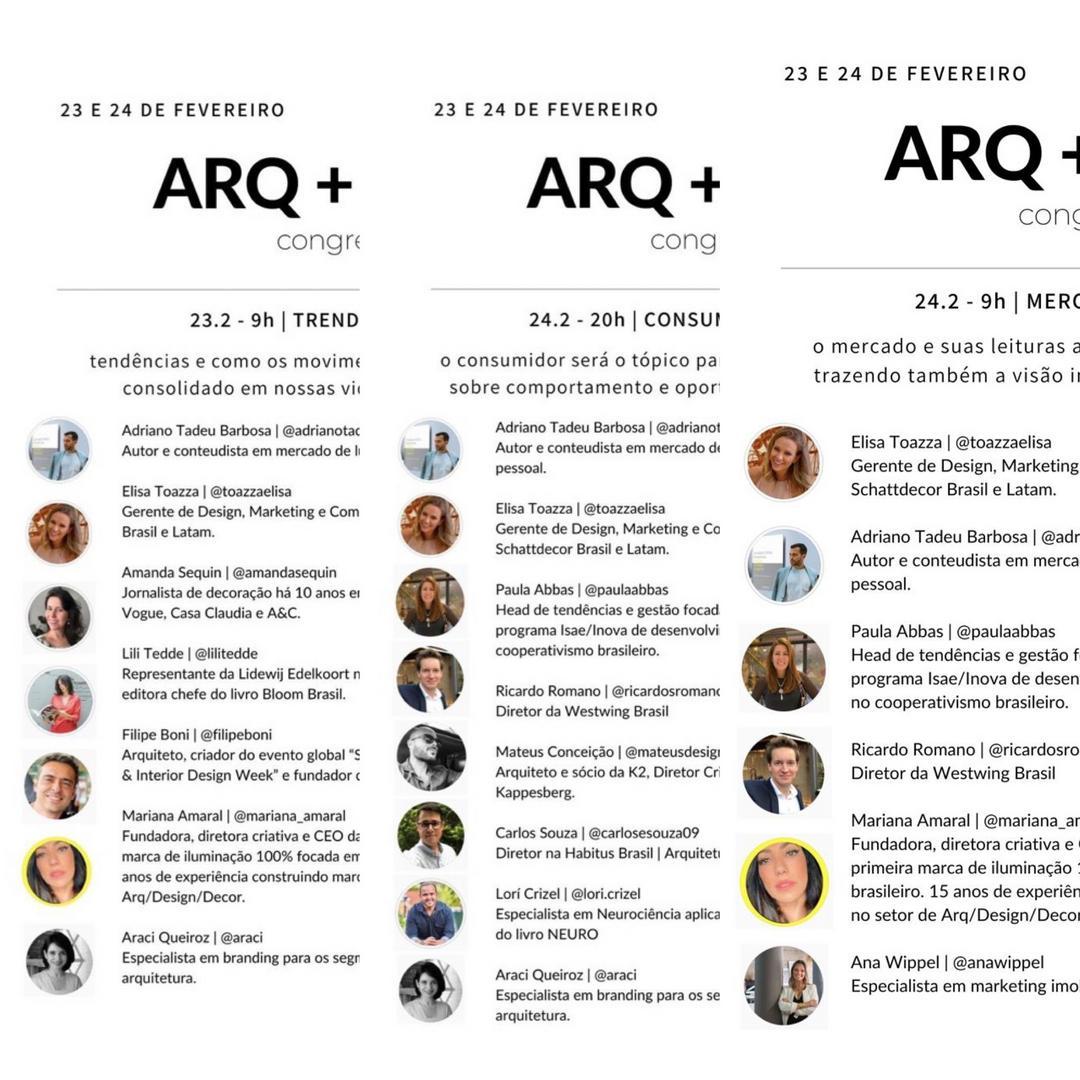 Resumo e dicas do Congresso Digital Arquitetura + Design no Clubhouse