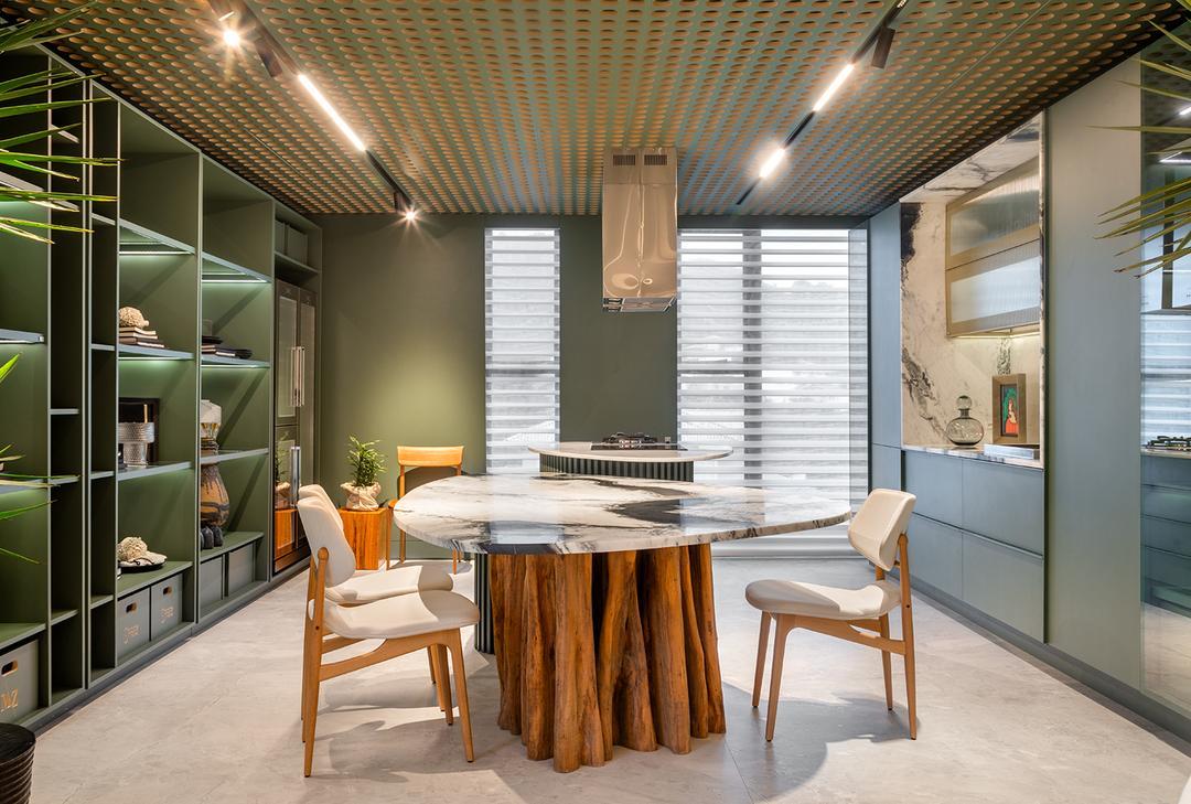 Arquiteto Michael Zanghelini busca na ancestralidade dos materiais naturais a inspiração para o Loft Naturalle