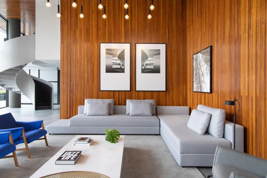 Design assinado nas áreas comuns é destaque de empreendimento em Curitiba, o Bleko761