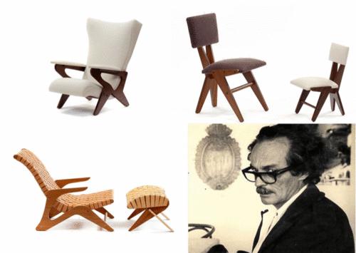 Zanine Caldas como tendência na arquitetura e design pelo uso da madeira ao lado de outros grandes mestres