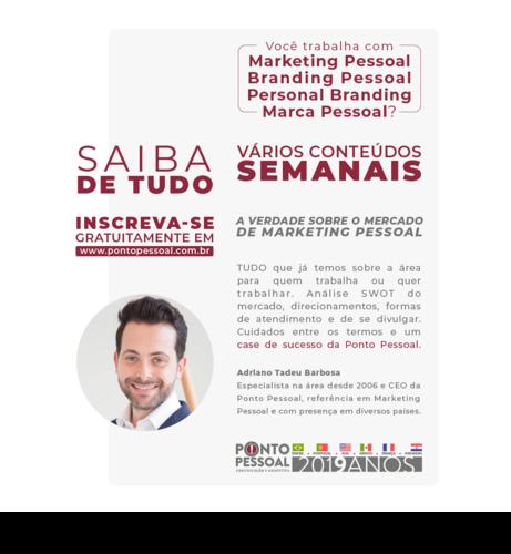 Você trabalha (ou quer trabalhar) com Marketing Pessoal?