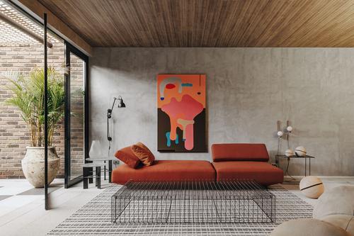 Studio Architetonika Nomad ousa com loft contemporâneo e jardim a céu aberto para CASACOR PR 2021