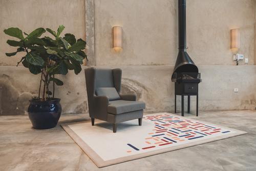 Os tapetes como elementos da decoração by Katalin Stammer