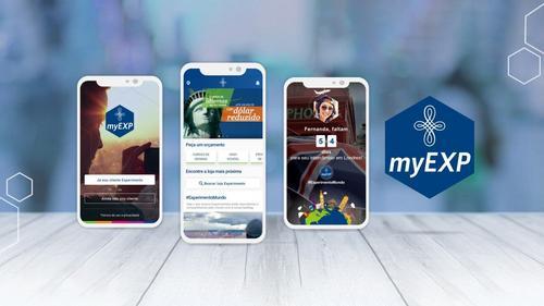 Novo aplicativo da Experimento Intercâmbio convida usuário para um espaço interativo, dinâmico e seguro