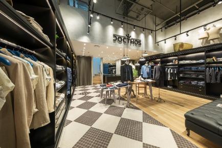 Primeira loja conceito da moda masculina Docthos inaugura em Curitiba