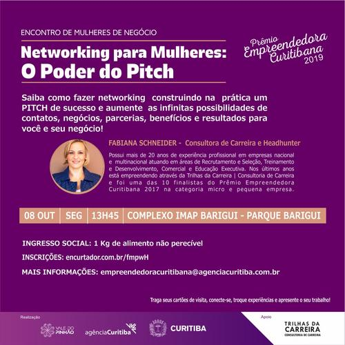 Networking para Mulheres: o Poder do Pitch